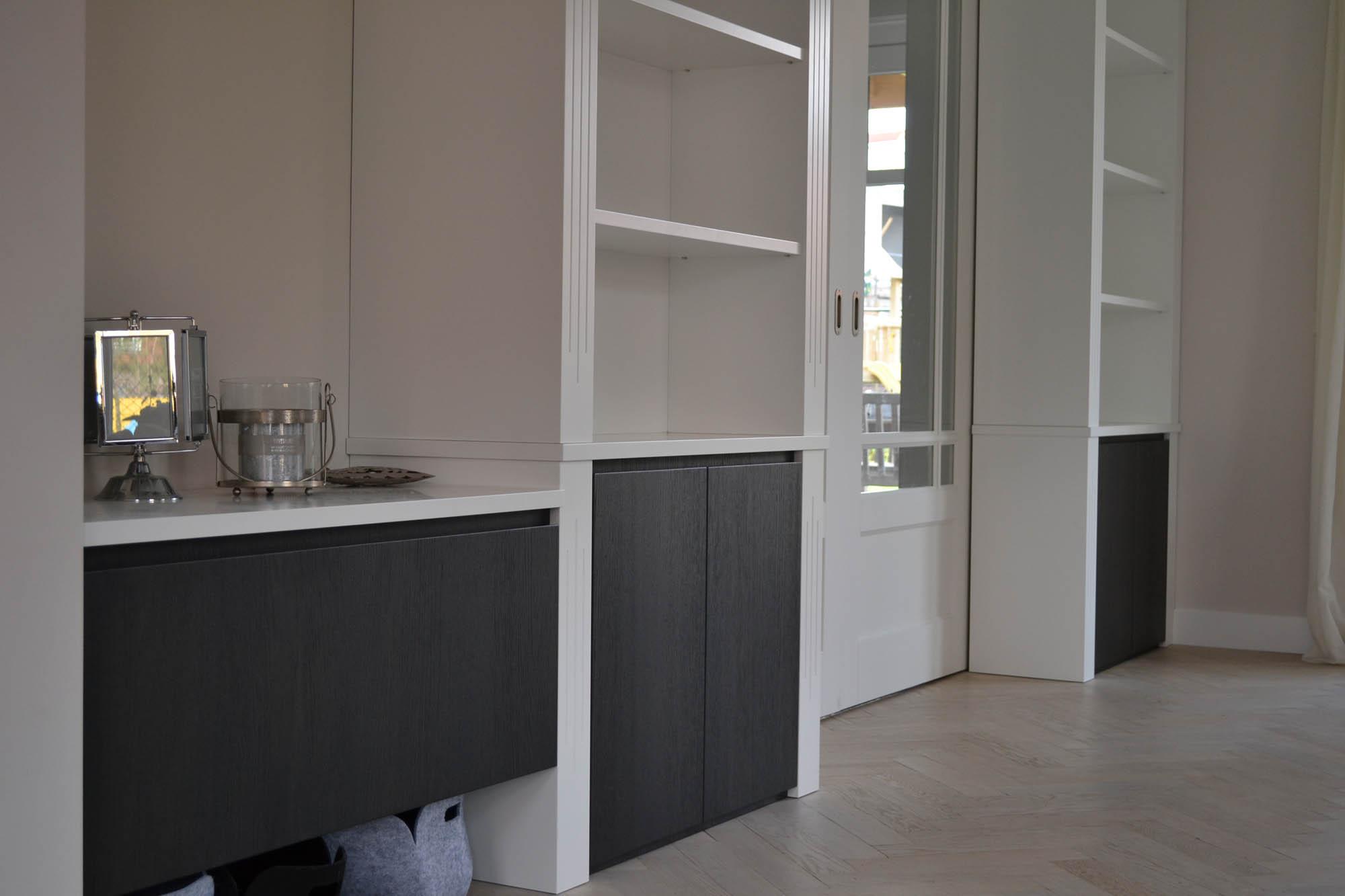 Muur ontwerp woonkamer grijs groene - Woonkamer muur grijs ...