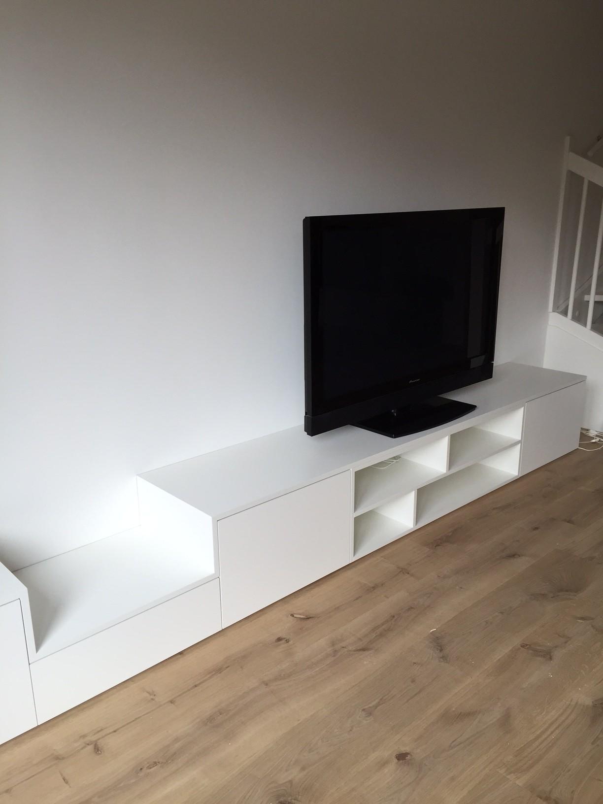 Tv Audio Meubel Wit Pdi Interieurbouw