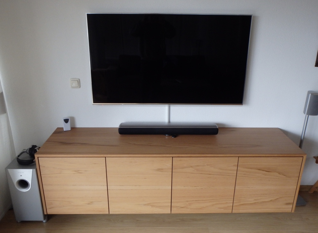 Audio Meubel Teak : Tv audio meubel teak pdi interieurbouw