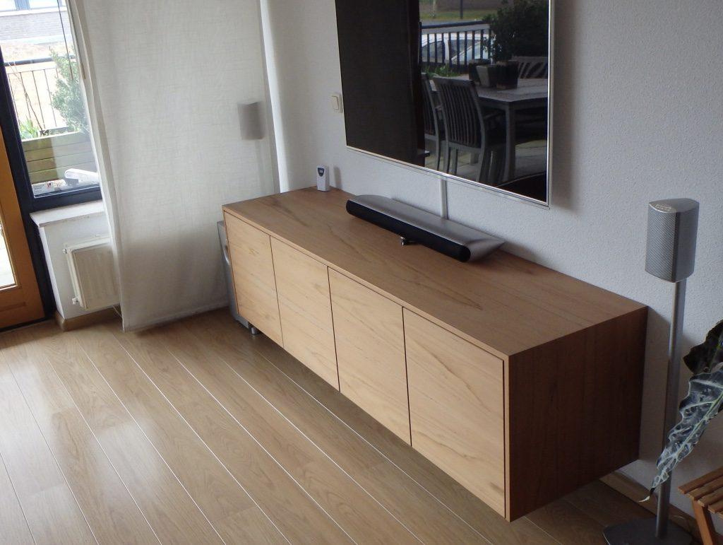 Audio Meubel Teak : Tv audio meubel teak pdi interieurbouw